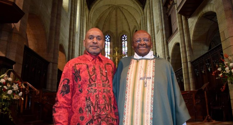 More support for West Papua's freedom from Archbishop Desmond Tutu