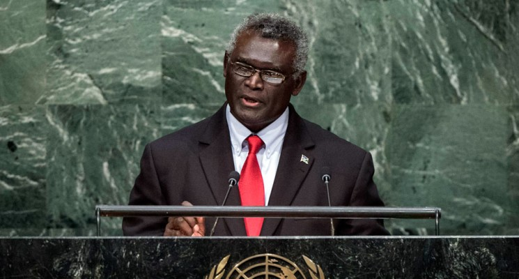Prime Minister of Solomon Islands shows support for West Papua at UN
