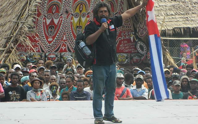 Free West Papua Campaign PNG Coordinator interviewed by Radio Australia